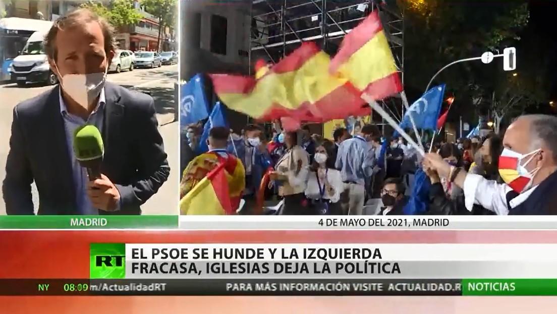 El PSOE se hunde, la izquierda fracasa y Pablo Iglesias deja la política: el resumen de las elecciones madrileñas