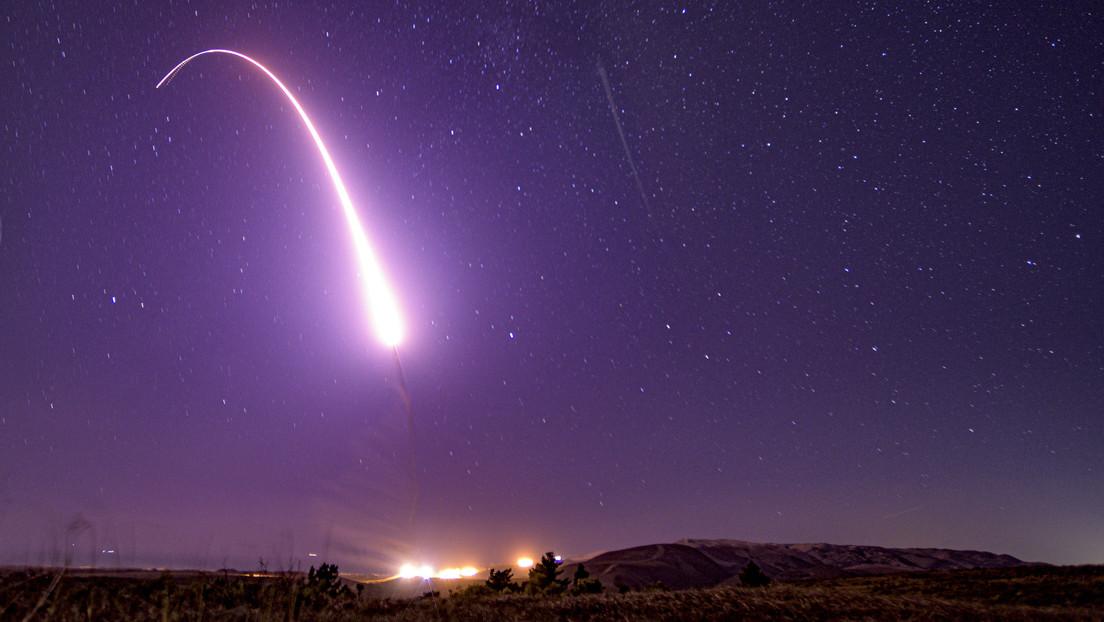 Falla el lanzamiento de prueba del misil balístico intercontinental Minuteman III estadounidense