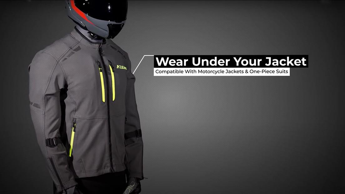 Lanzan un chaleco para motocicletas con un 'airbag' por suscripción que dejará de funcionar si no se paga (FOTO)