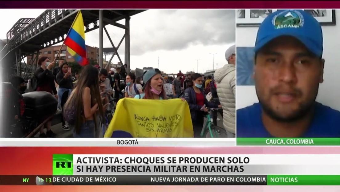 Colombia vive más de una semana de protestas marcadas por la violencia