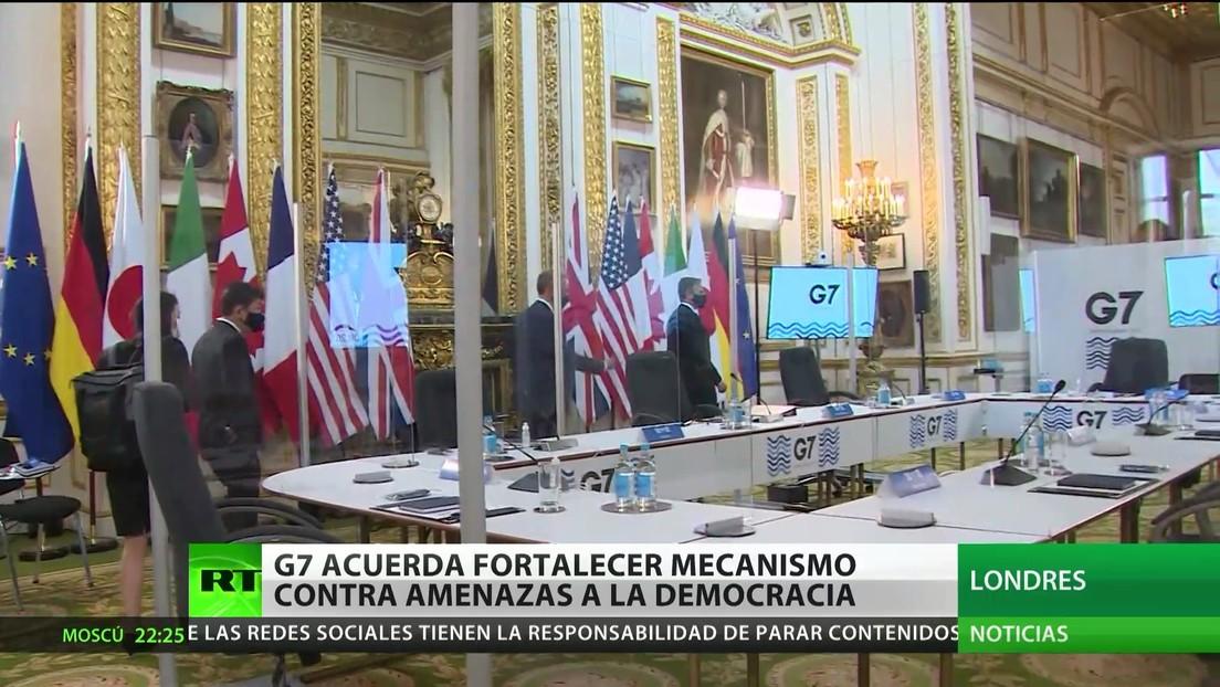 El G7 acuerda fortalecer mecanismo contra las amenazas a la democracia
