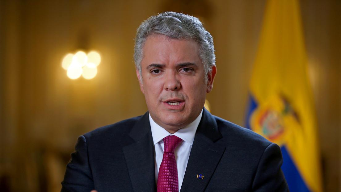 """Iván Duque ofrece una recompensa por información para la captura de """"autores de actos vandálicos"""" en medio de las protestas en Colombia"""