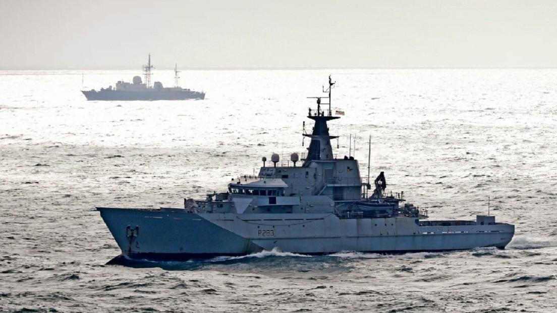 El Reino Unido enviará 2 naves militares al canal de la Mancha luego de las amenazas de Francia de dejar de suministrar energía a una isla en la zona