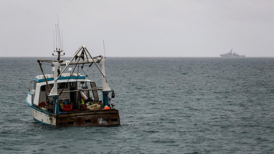 El Reino Unido retira los buques que había enviado a aguas de la isla de Jersey en medio de las tensiones con Francia por los derechos de pesca