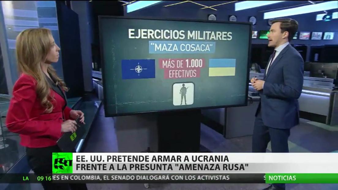 """EE.UU. pretende armar a Ucrania frente a la supuesta """"amenaza rusa"""""""