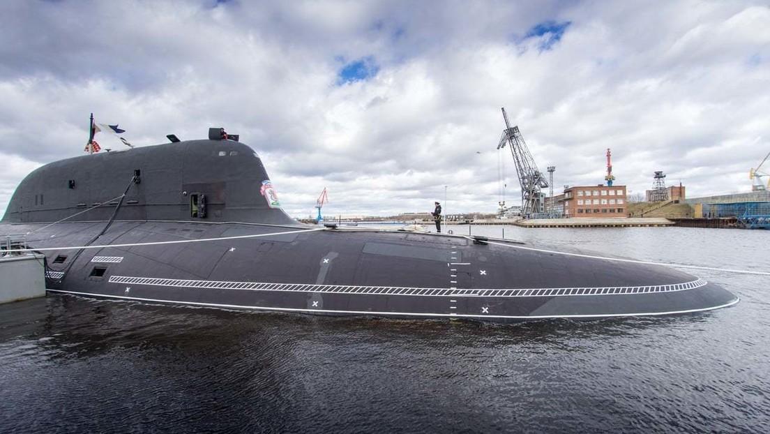 """La Armada de Rusia recibe el submarino de propulsión nuclear """"más moderno del mundo"""""""