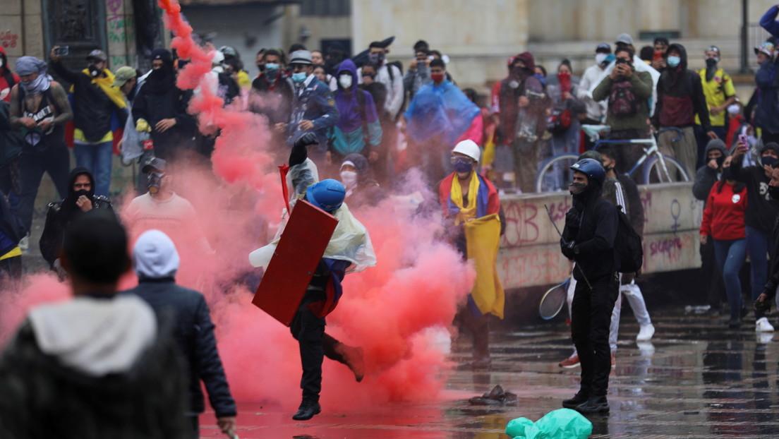 """La ONU llama a garantizar las protestas en Colombia y que la fuerza pública actúe cumpliendo con """"la protección y el respeto por los derechos humanos"""""""