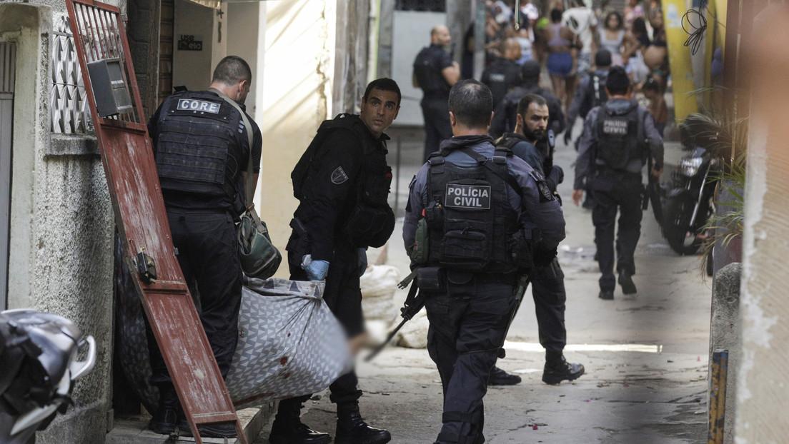 """""""No vamos a olvidar"""": Conmoción en Brasil tras la operación policial más letal de la historia de Río de Janeiro"""