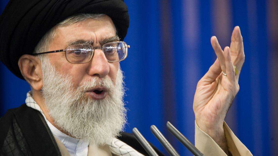 """Líder supremo de Irán: """"Israel no es un país, sino un campo terrorista contra Palestina y otras naciones musulmanas"""""""
