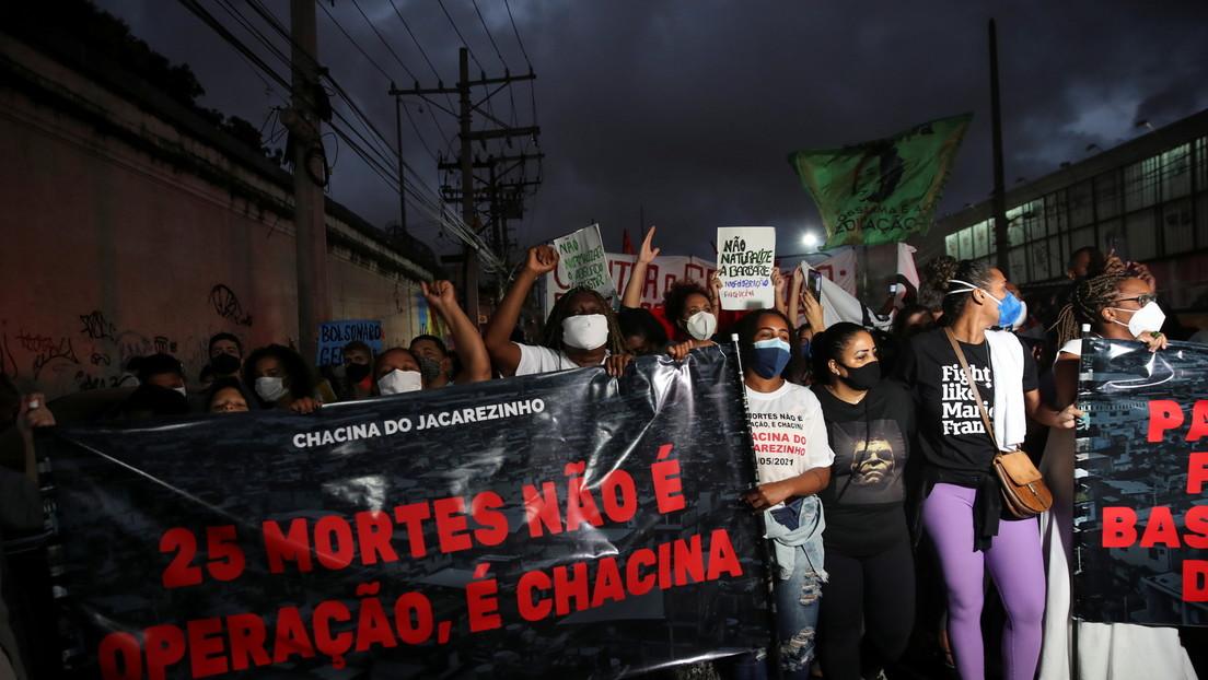 Asciende a 28 la cifra de muertos tras la operación policial más letal realizada en una favela de Río de Janeiro