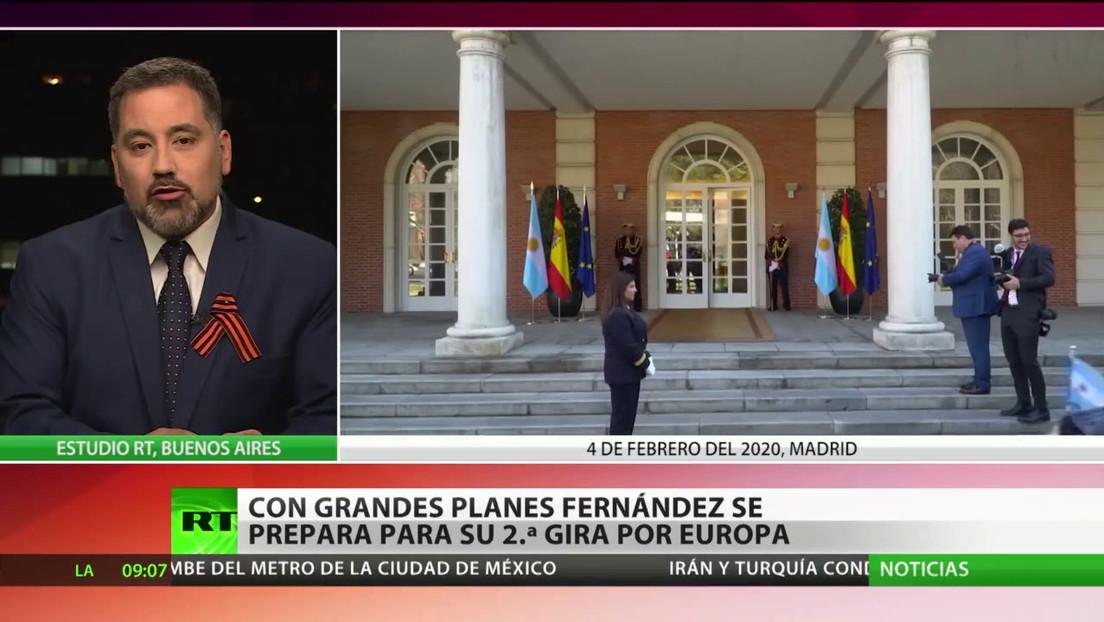 Con grandes planes Alberto Fernández se prepara para su segunda gira por Europa