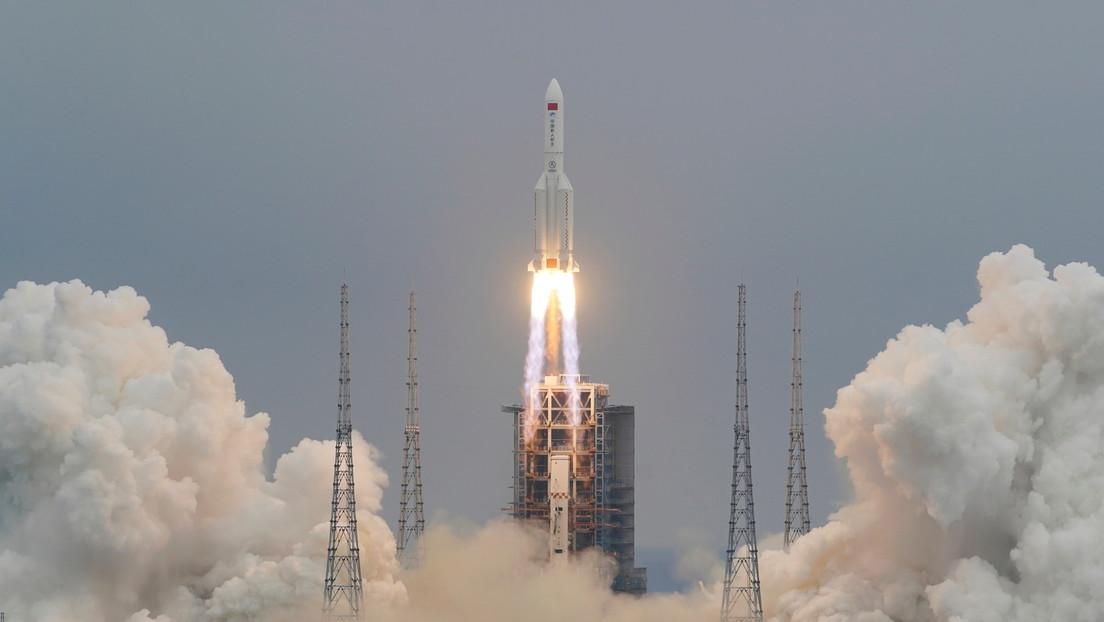 China anuncia que los restos de su cohete descontrolado entraron en la atmósfera terrestre