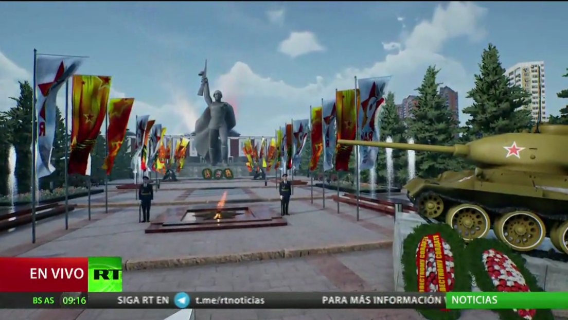 Ciudades de Rusia celebran desfiles militares con motivo del Día de la Victoria