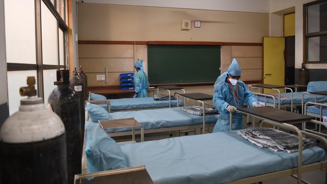 Advierten de la propagación entre los sobrevivientes del covid-19 en la India de una infección fúngica mortal
