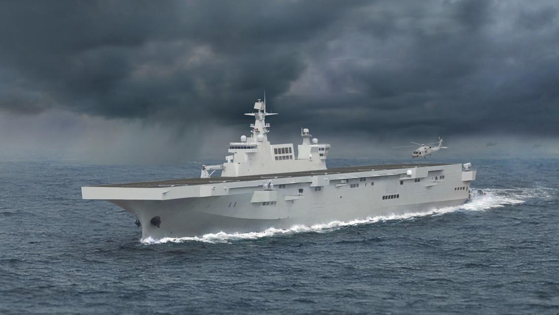 Expertos señalan que el número de casco del nuevo buque de asalto anfibio chino apuntaría a su papel importante en la Armada del país
