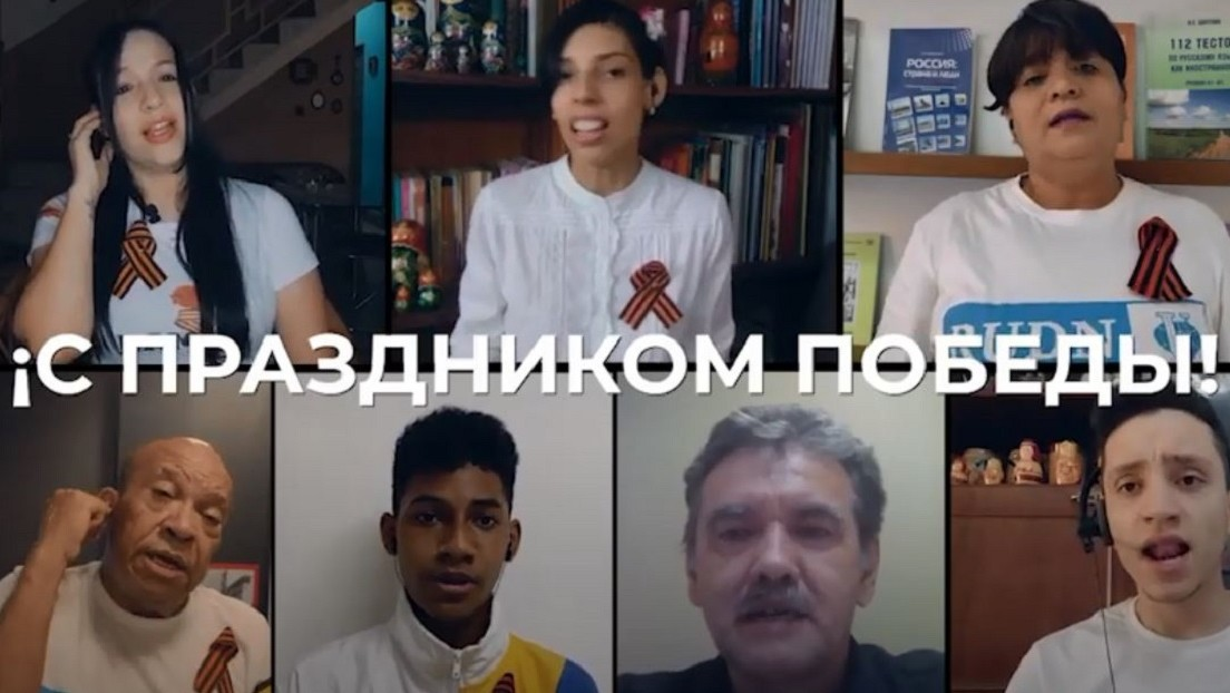 VIDEO: Venezolanos cantan en ruso la emblemática canción 'Día de la Victoria' con motivo del 76 aniversario del triunfo sobre la Alemania nazi