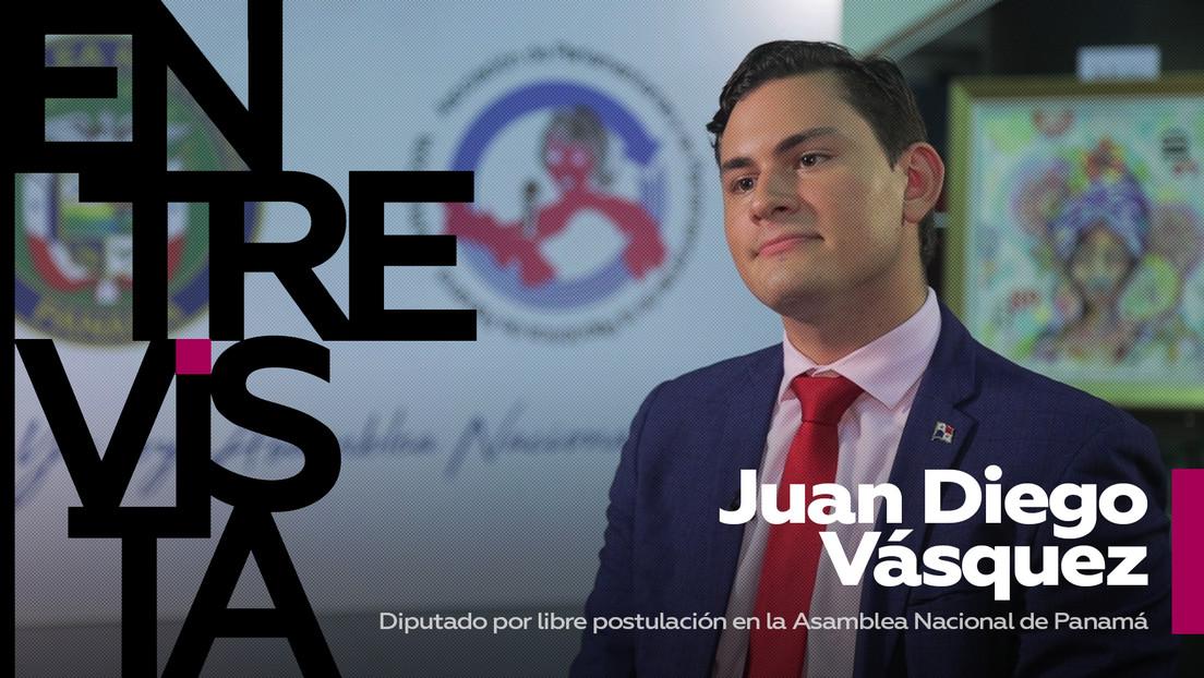 """Juan Vásquez, diputado panameño: """"En Panamá no hubo claridad científica sobre la pandemia, dada la corrupción y la falta de institucionalidad"""""""