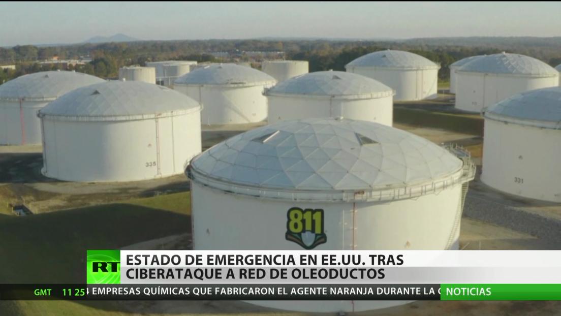 Estado de emergencia en EE.UU. tras ciberataque a su principal red de oleoductos