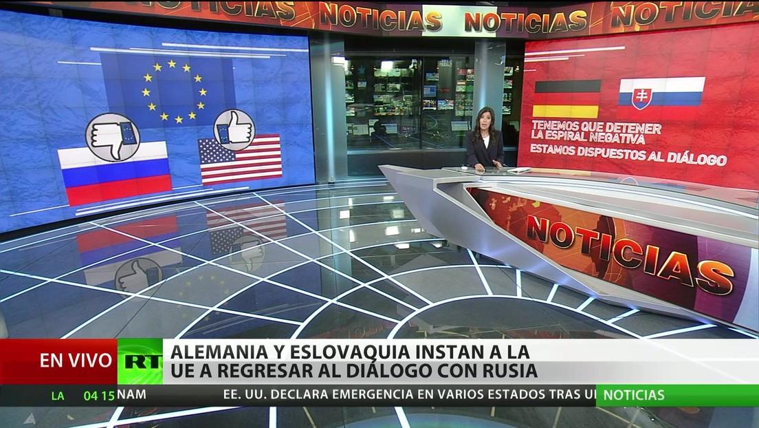Alemania y Eslovaquia instan a la Unión Europea a regresar al diálogo con Rusia