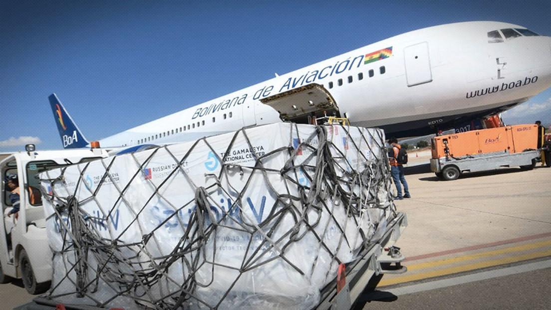 Luis Arce anuncia que en los próximos días llegarán a Bolivia 500.000 vacunas de Sputnik V y un millón de Sinopharm