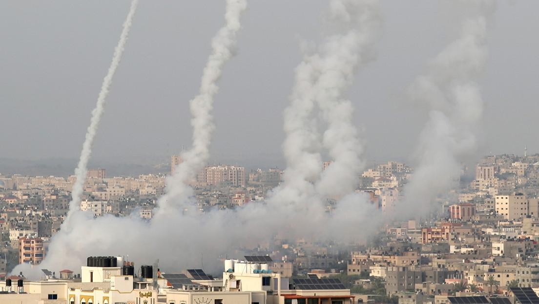 Hamás ataca Israel con cohetes tras el ultimátum para que retire a sus tropas de dos puntos conflictivos de Jerusalén (VIDEOS)