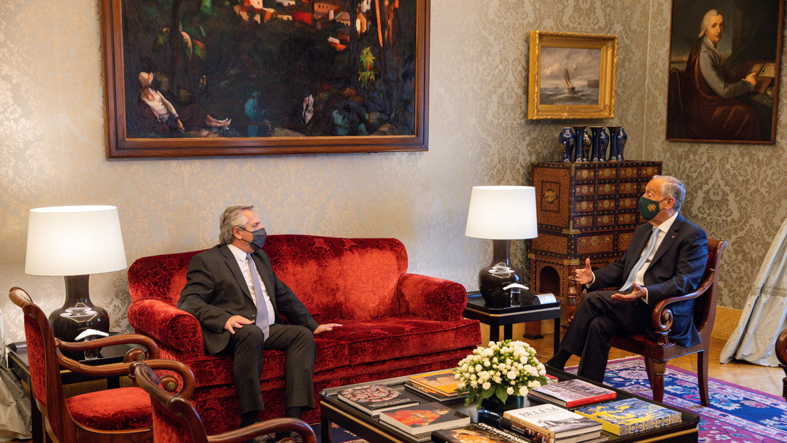 """""""Intentaremos sensibilizar al FMI"""": Alberto Fernández recibe el apoyo del primer ministro de Portugal por la deuda argentina"""