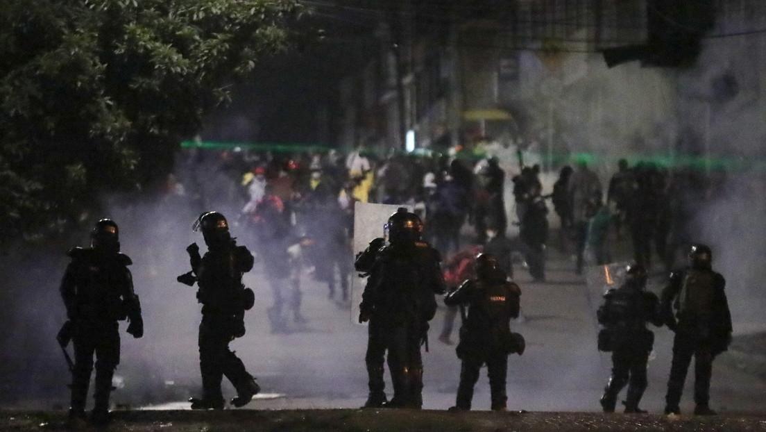 Reportan la primera víctima fatal en Bogotá por la represión contra el paro nacional en Colombia