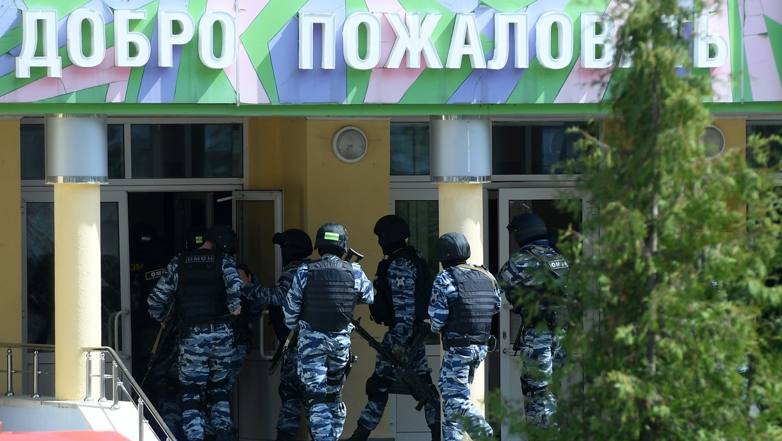 Al menos 9 muertos y 21 heridos en un tiroteo en una escuela de la ciudad rusa de Kazán