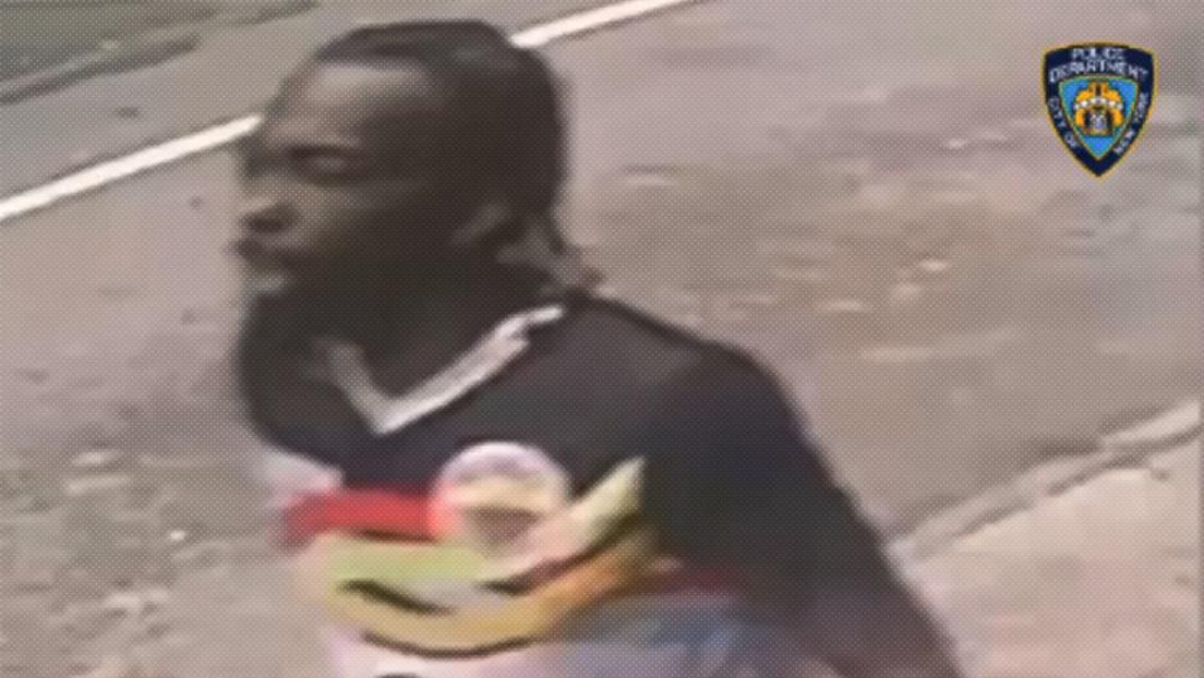 VIDEO: La Policía de Nueva York revela grabación de un sospechoso del tiroteo de este sábado en Times Square