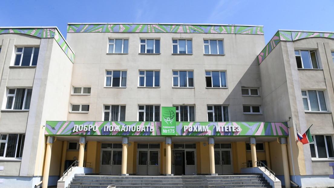VIDEO: El momento en que el tirador ingresa a la escuela de Kazán antes de abrir fuego y matar a nueve personas