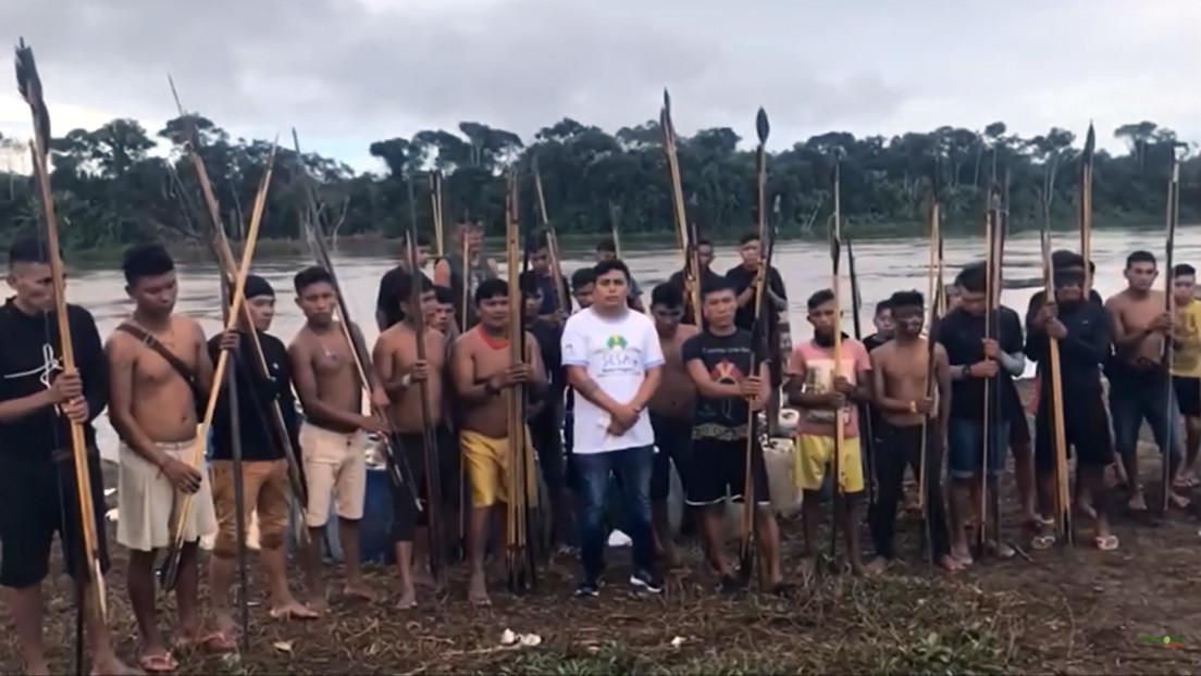 Indígenas yanomamis denuncian un ataque armado de mineros ilegales contra una de sus aldeas (VIDEO)