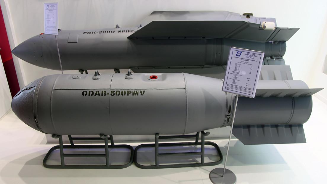 Rusia ultima las pruebas de su novedosa bomba 'invisible' de 15 cabezas