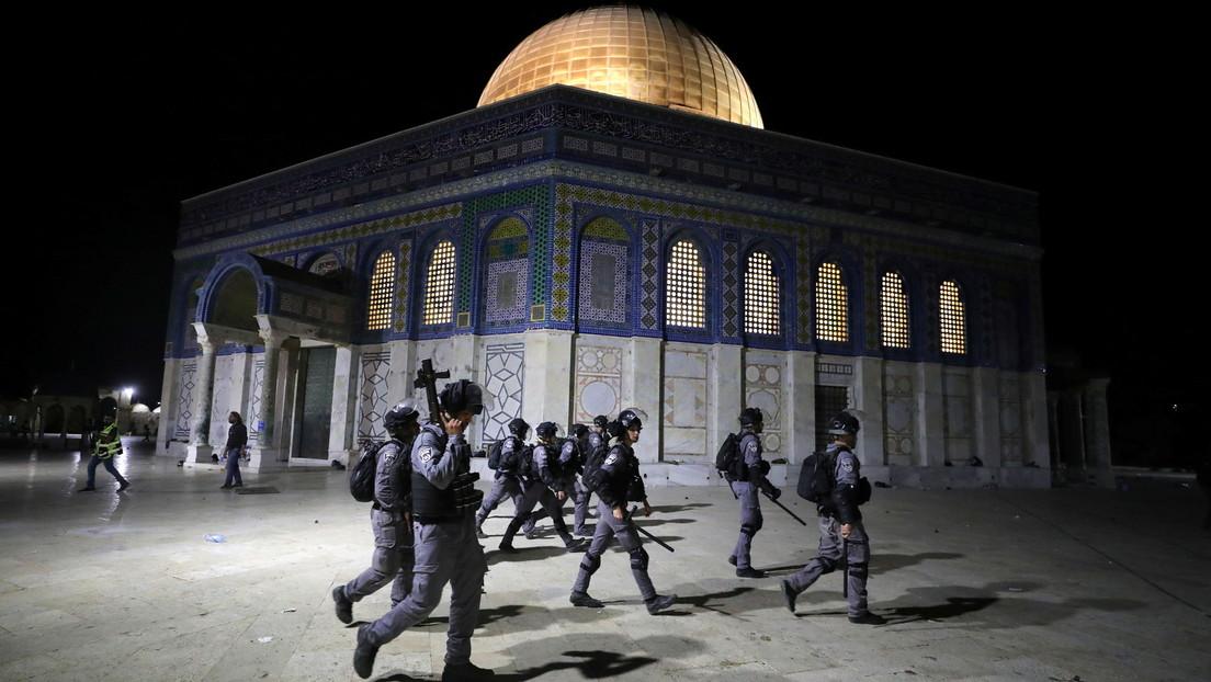 La Policía israelí usa equipo especial tras la reanudación de los disturbios en Jerusalén Este