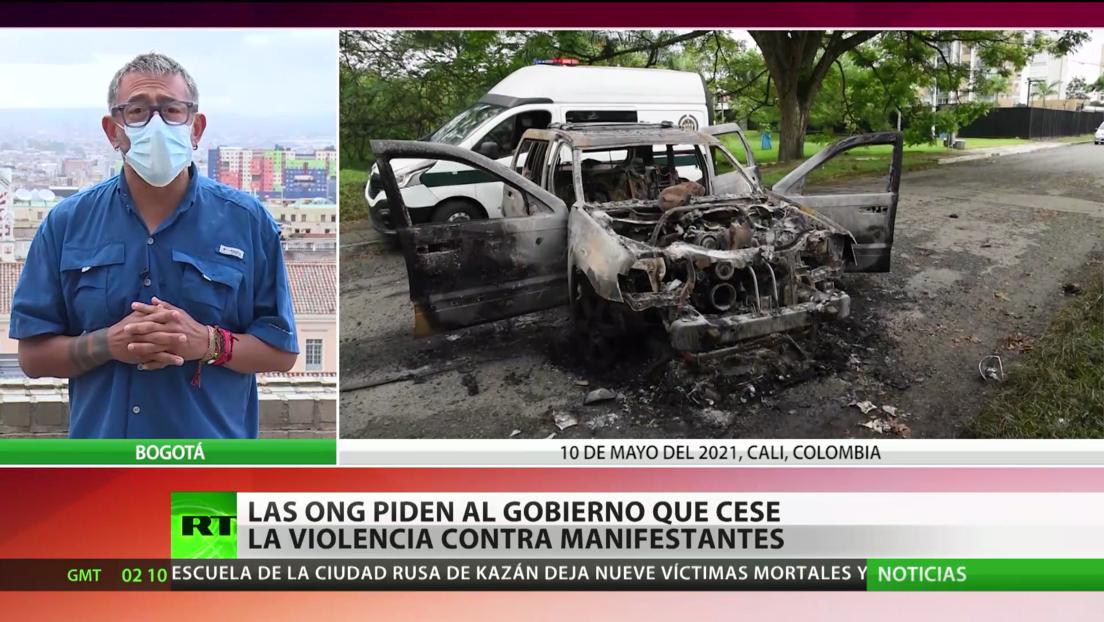 Las ONG piden al Gobierno que cese la violencia contra los manifestantes en Colombia