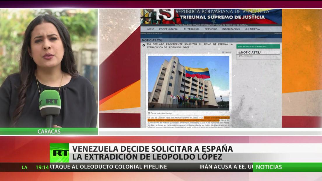 Venezuela decide solicitar a España la extradición del líder opositor Leopoldo López