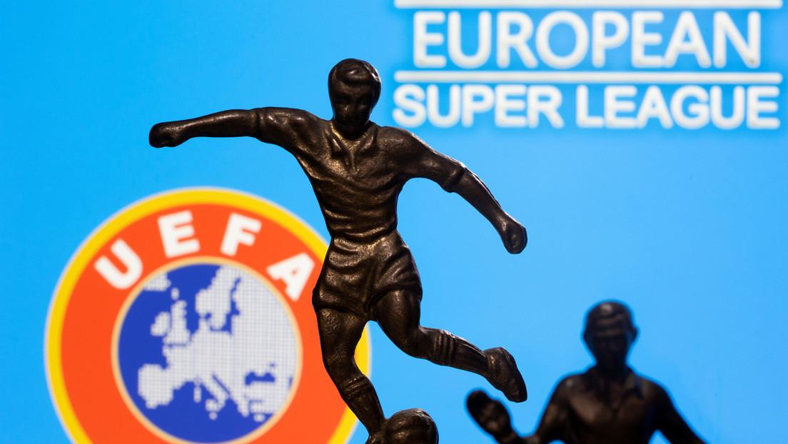 La UEFA abre una investigación disciplinaria contra el Real Madrid, el Barcelona y la Juventus por su participación en la Superliga