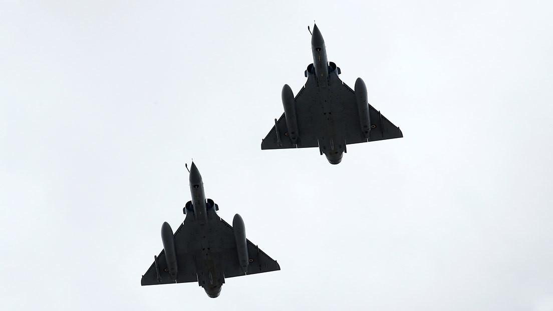 Rusia intercepta por segundo día consecutivo tres aviones militares de Francia sobre el mar Negro