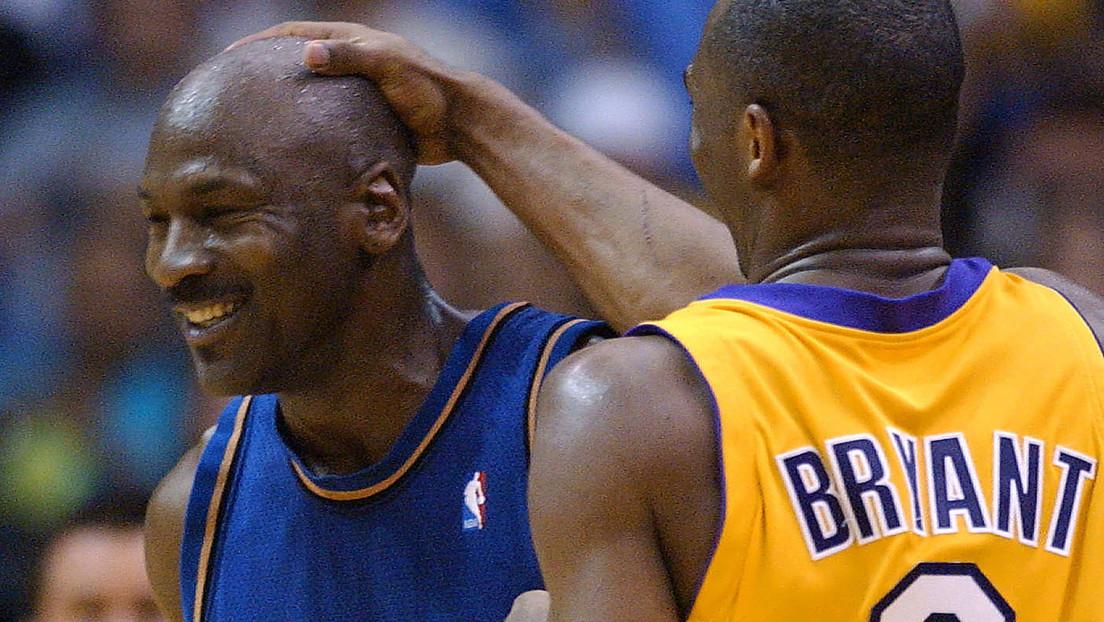 Michael Jordan comparte sus últimos mensajes de texto con Kobe Bryant
