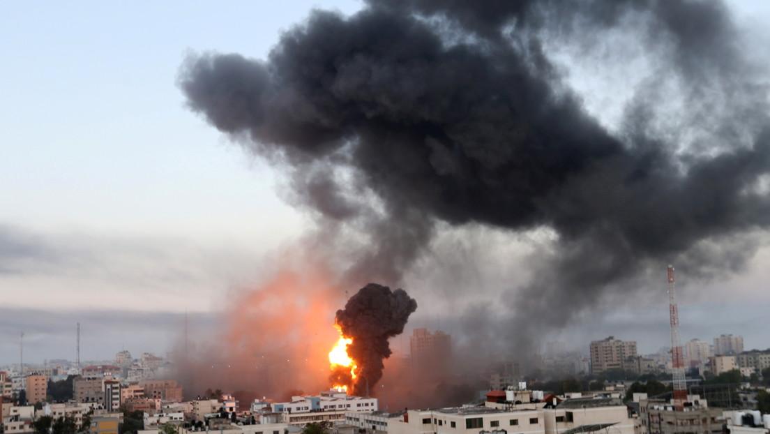 """Blinken: EE.UU. apoya el derecho de Israel a la autodefensa en medio de la violencia """"desgarradora"""""""