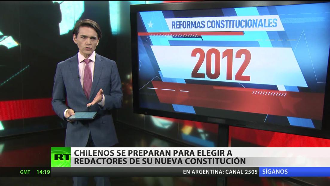 Chilenos se preparan para elegir a los redactores de su nueva Constitución