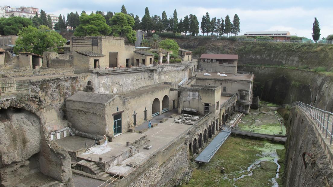 Identifican el esqueleto de un soldado romano de alto rango que participó en el rescate de civiles tras la erupción del Vesubio