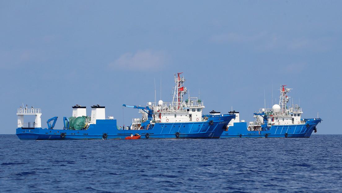 Manila reporta una aglomeración de casi 300 naves militares chinas entre islas filipinas