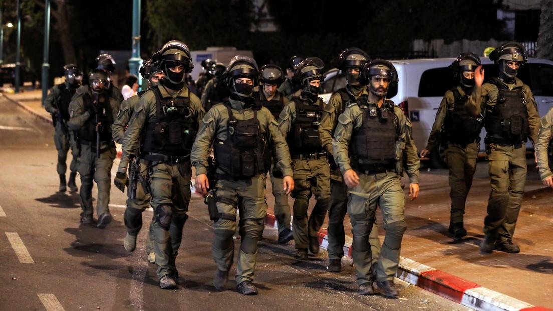 """Israel anuncia un """"despliegue masivo"""" de fuerzas de seguridad para acabar con la violencia interna"""