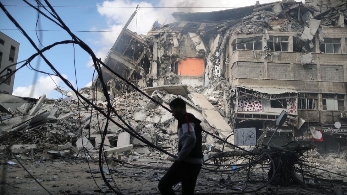 El Ejército israelí destruye un generador de electricidad cerca de la casa del líder de Hamás