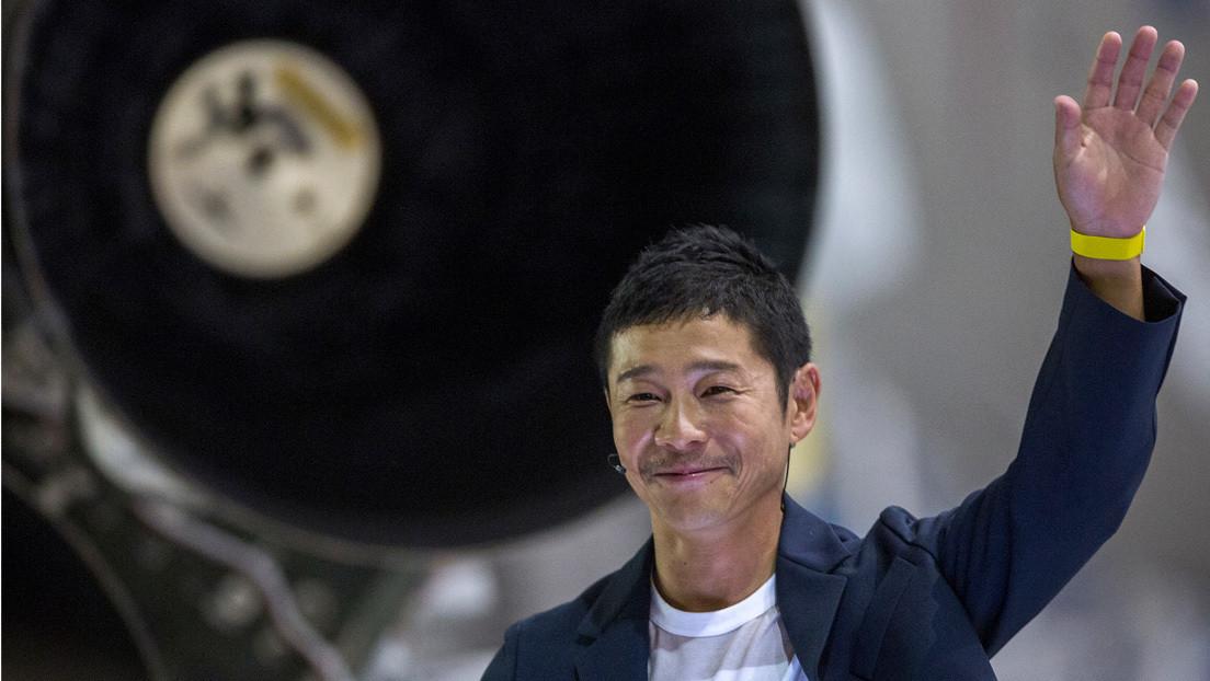 Rusia enviará a la Estación Espacial Internacional a un multimillonario japonés que planea viajar a la Luna