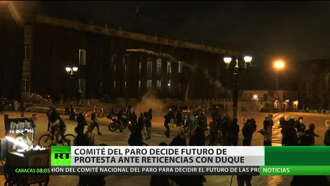 Colombia: El Comité del Paro decide el futuro de las protestas ante reticencias con el Gobierno