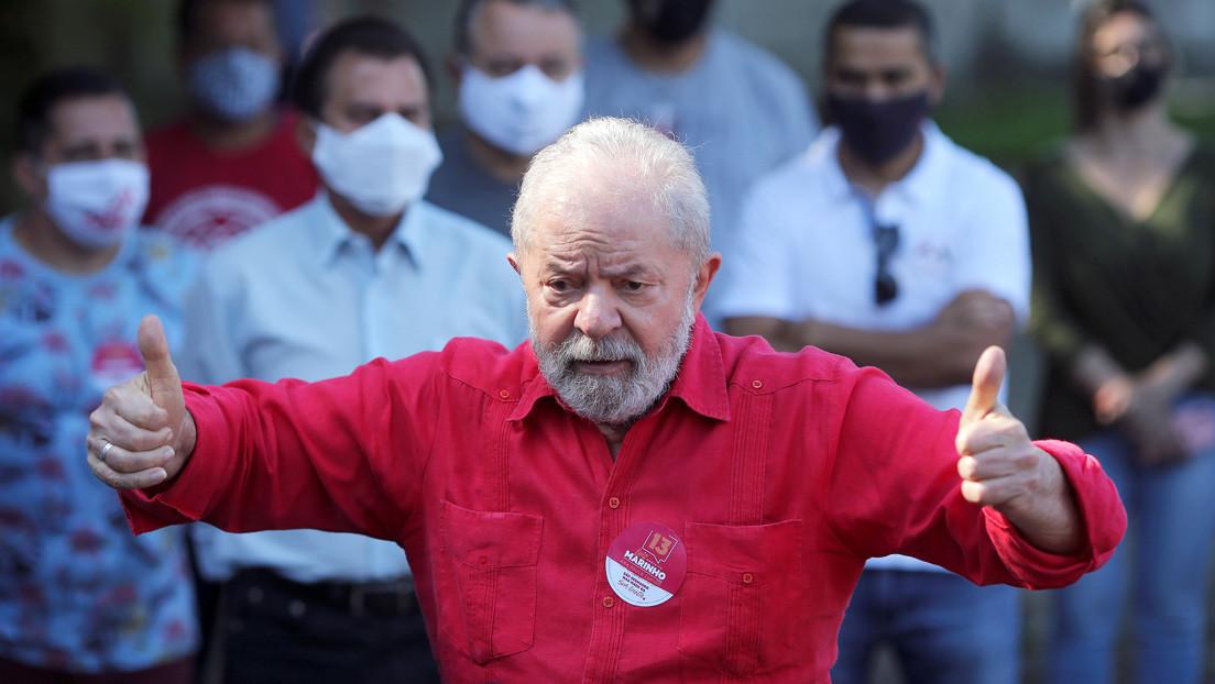 Un sondeo apunta que Lula ganaría con un amplio margen a Bolsonaro en las elecciones presidenciales de 2022