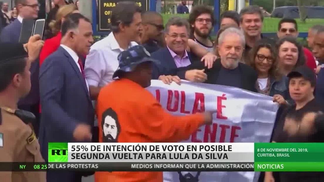 Sondeo: Lula da Silva ganaría las próximas presidenciales en Brasil si decidiera postularse