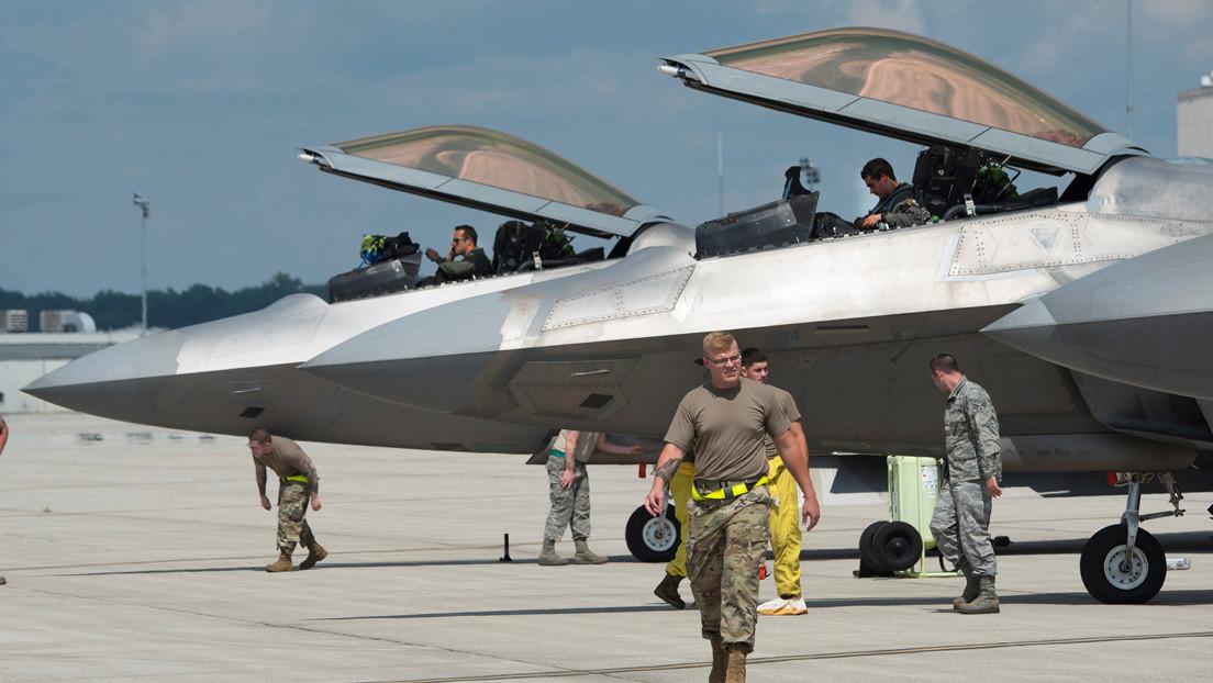 La Fuerza Aérea de EE.UU. piensa deshacerse de los F-22, de los cazas más modernos en su arsenal