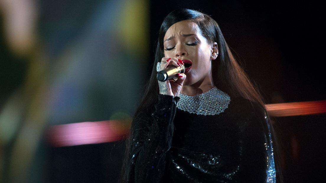 """Internautas acusan a Rihanna de no tomar partido por hablar de """"niños inocentes israelíes y palestinos"""""""